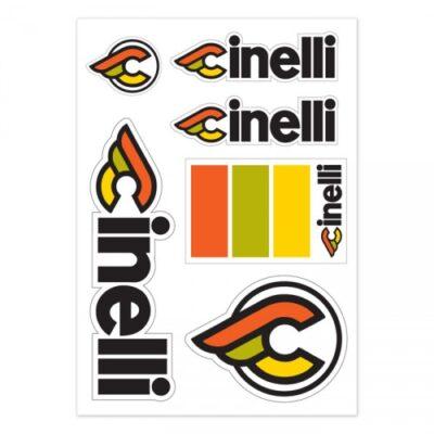 Cinelli Italo 79 sticker pack white