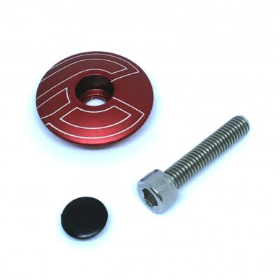 cinelli-top-cap-red-with-bolt-plug
