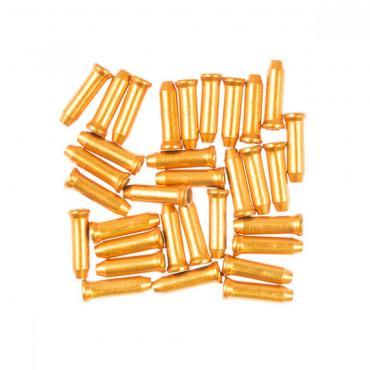Licello kabel eindkapjes goud