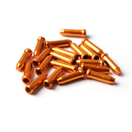 Licello kabel eindkapjes oranje