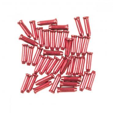 Licello kabel eindkapjes rood