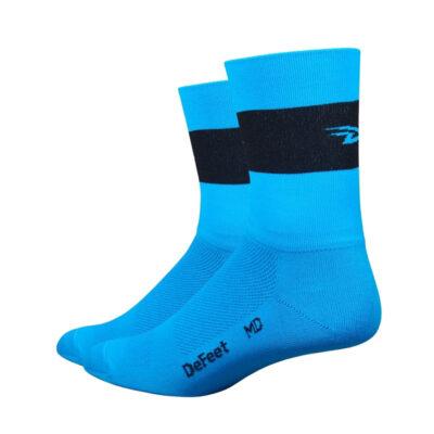 Aireator 5 Team DeFeet Process blauw zwart logo