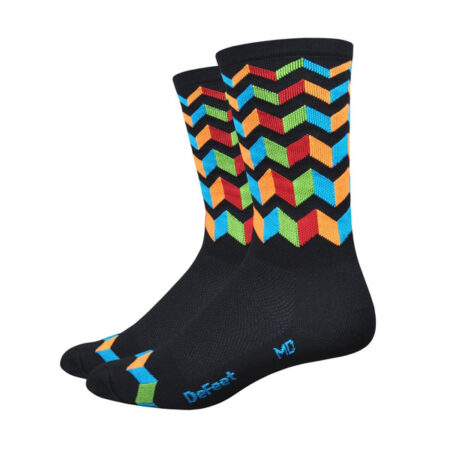 Defeet Jitterbug multicolour sok