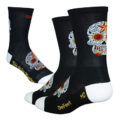 Defeet sugarskull zwart wit
