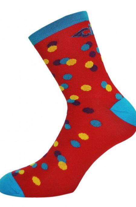 Cinelli caleido dots sok rood