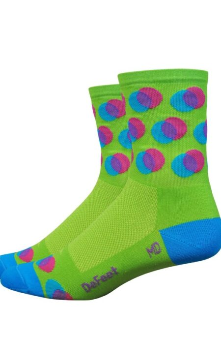 defeet aireater blurred sok (kort model)