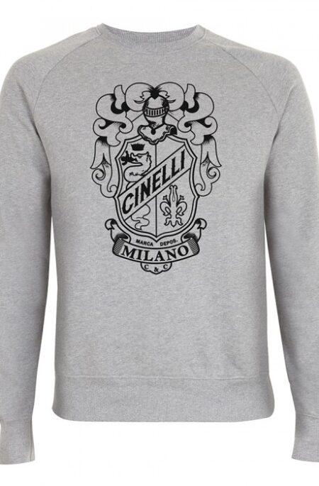 cinelli crest crew sweatshirt