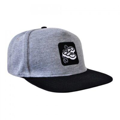 cinelli mike giant grey snapback cap