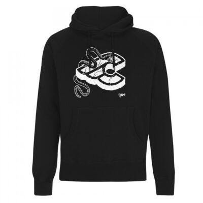 cinelli mike giant zwart hoody sweatshirt