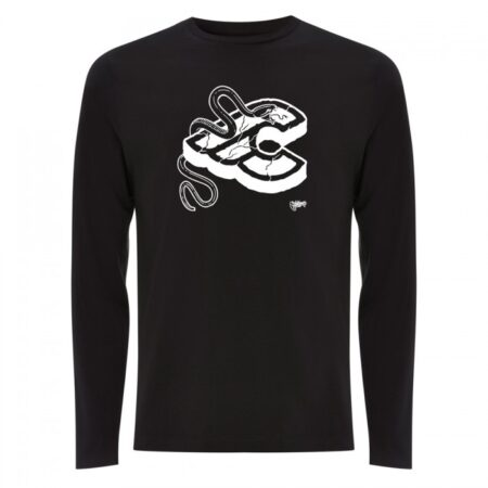 cinelli mike giant zwart long sleeve t-shirt