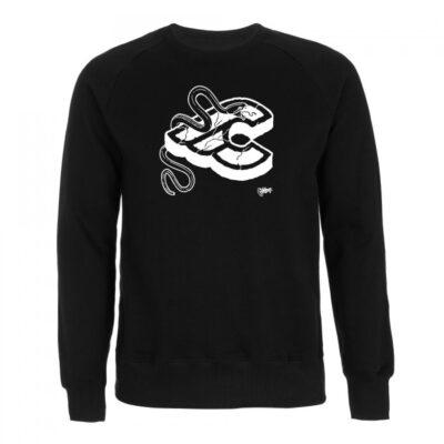 cinelli mike giant zwart sweatshirt