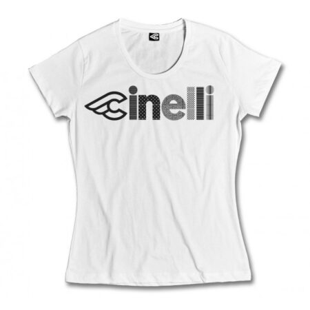 cinelli optical lady t-shirt wit