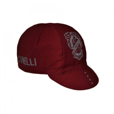 cinelli crest burgundy cap bordaux