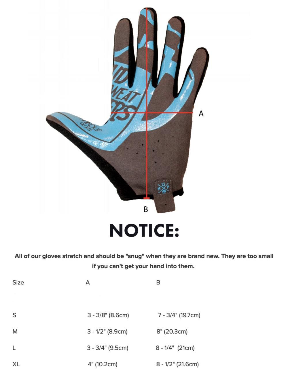 HandUp summer & winter gloves