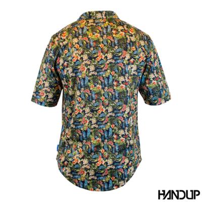 Handup OG Floral Ridin Hawaiian shirt achter