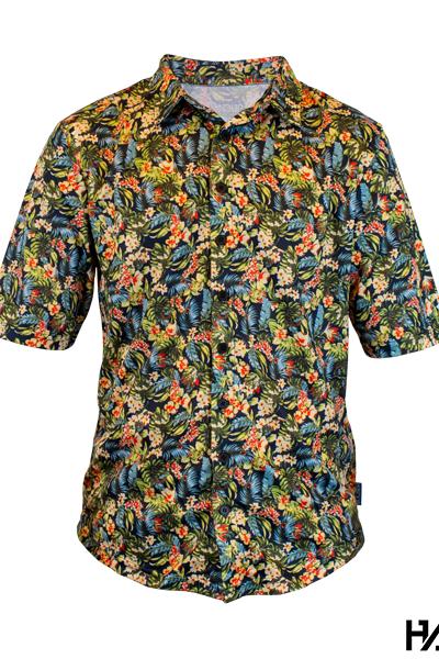 Handup OG Floral Ridin Hawaiian shirt voor