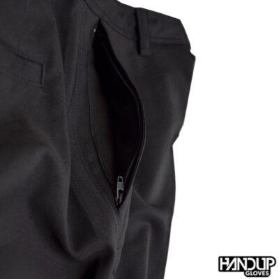 Handup schredding short zijkant zak