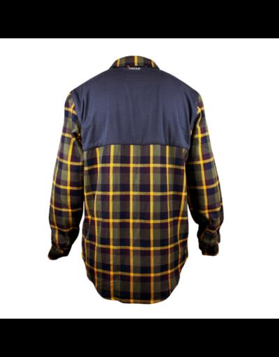 handup flextop flannel gold olive1