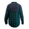 handup-flextop-flannel-green-navy back
