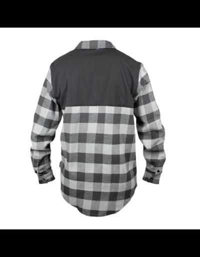 handup flextop flannel grey- black 1
