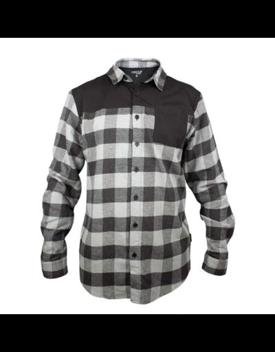 handup flextop flannel grey black1