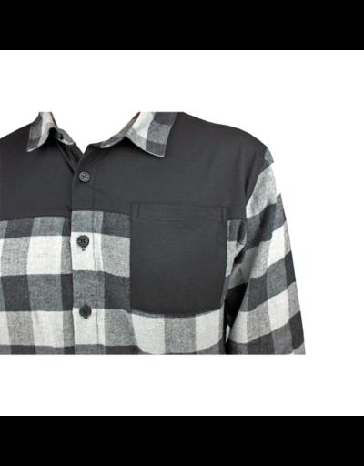 handup flextop flannel grey black2