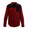 handup-flextop-flannel-red front
