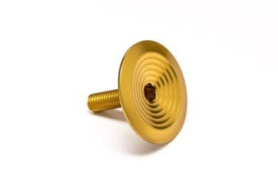 AbsoluteBlack-geïntegreerde-Top-cap-topcap-bolt-goud