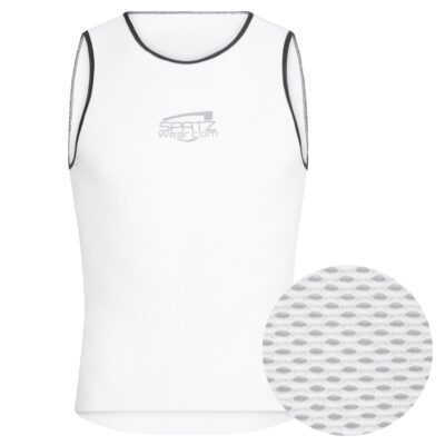 SPATZWEAR 'CoolR' Summer Indoor Baselayer - White