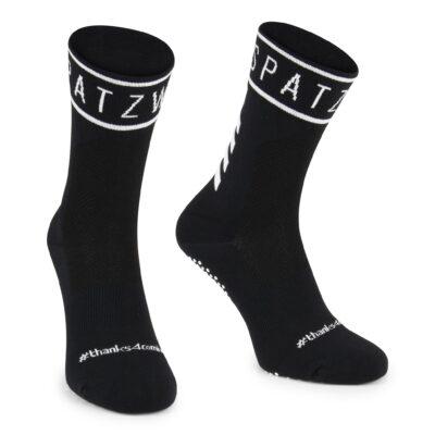 SPATZWEAR 'SOKZ' Long-Cut Socks zwart