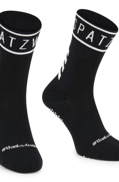SPATZWEAR 'SOKZ' Long-Cut Socks zwart