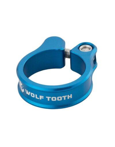 Wolf Tooth zadelpenklem blauw
