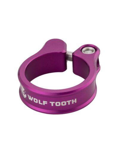Wolf Tooth zadelpenklem paars